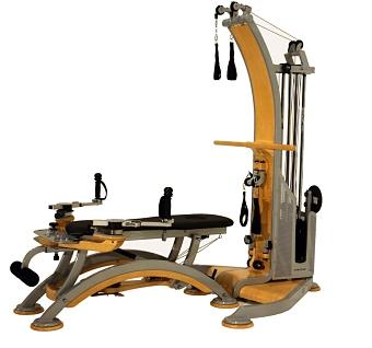 gyroscope exercise machine